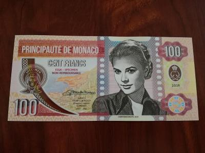 100 Francs Grace Kelly - Matej Gábriš, stav N
