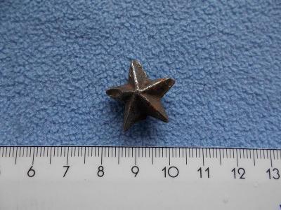 Odznak starý Rusko Sovětský svaz rudá hvězda plná