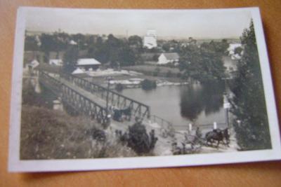 HORAŽDOVICE-Klatovy-cestní most-konské vozy-1930