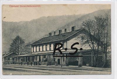 Hronská Breznica 1916 - Zvolen , nádraží  , /FX/