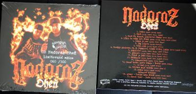 LIMITOVANÉ CD číslované : NADORAZ - Oheň 2019 Baar Chang Ruman Digaz