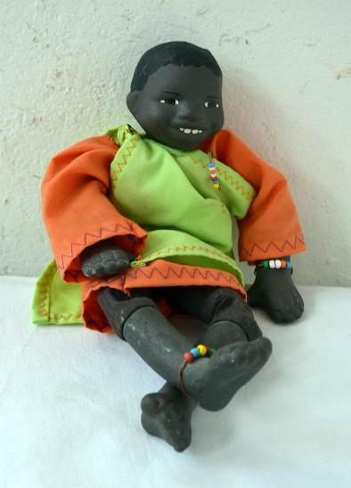 Africké dívky kořist