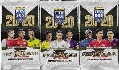 Fotbalové kartičky FIFA 365 - 2020 Adrenalyn XL  : Nové balíčky !