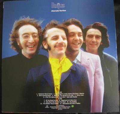 BEATLES -  ALTERNATE RARITIES / picture disc