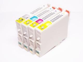 Kompatibilní náplně T0611-T0614 pro Epson Stylus D, DX Multipack 4ks