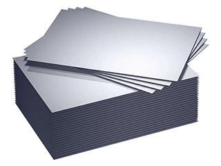 Hliníkový plech s fólií proti poškrábání - 2,0 a 2,5 x 1250x500mm