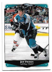 JEFF FRIESEN 1999-00 UPPER DECK VICTORY