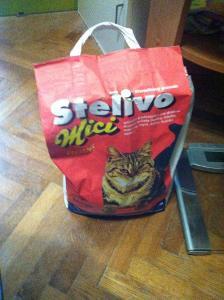 Stelivo pro kočky Mici 3 kg