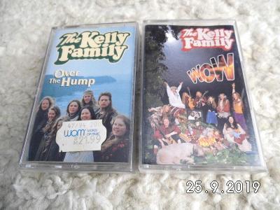KELLY FAMILY - 2x  originálne mgf. kazety