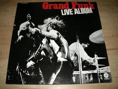 Grand Funk – Live Album (1970) 2xLP ,EX+