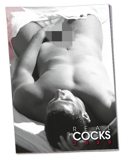 VELKÝ NÁSTĚNNÝ KALENDÁŘ: REAL COCKS 2020 - AKTY MUŽŮ - Časopisy