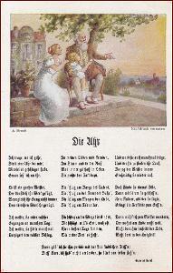 Krajina * žena, muž, děti, umělecká, báseň * M5696