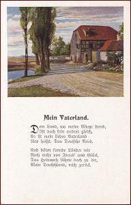 Krajina * chalupa, venkovský motiv, umělecká, báseň * M5889