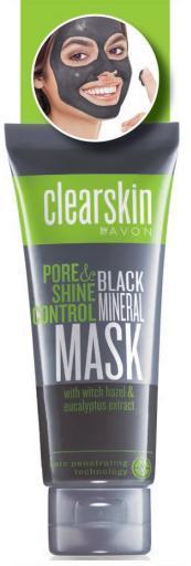 Maska s minerály pro čištění pórů *****ZMĚNÍ BARVU