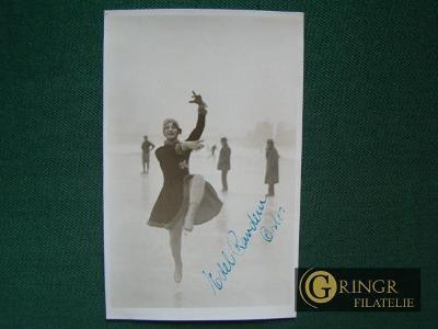 Autogram : Edel Signe Randem (Uvland) - ( 1910 Oslo - 2001 Stabekk ) -