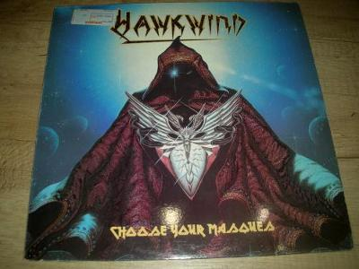 Hawkwind – Choose Your Masques (1982) 1.Press , TOP STAV!!!