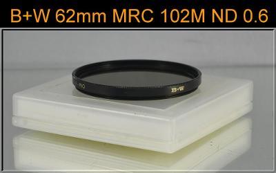 💥 - B+W 62mm 4x MRC 102 ND 0.6 2BL - Šedý neutrální filtr ✨ TOP ✨