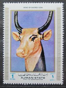 Adžmán 1972 Egypt, svatá kráva Mi# 1294 Kat 2.50€ 1710