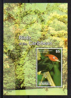 Dominica-Ptáci 2007** Michel Bl.527 / 4 €