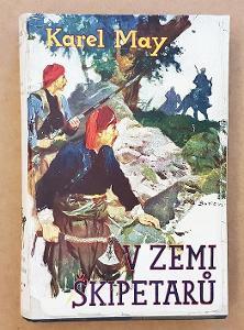 KAREL MAY - V ZEMI ŠKIPETARŮ - Toužimský 1930