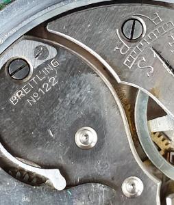 Staré funkční stopky Breitling 122