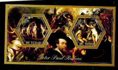 Čad 2014 - Rubens - Paridův soud, Adam a Eva