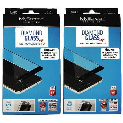 2 kusy ochranné tvrzené sklo Diamond FullCover pro Honor 7A