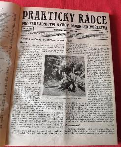 Kniha - Praktický rádce zahradnictví a chov/č.1 -12/1931...(9357)