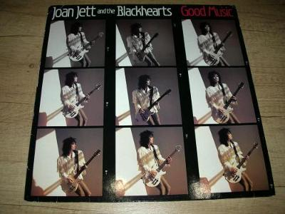 Joan Jett And The Blackhearts ‎– Good Music (1987) 1.Press , EX