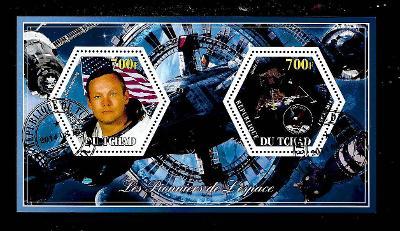 Čad 2014 - Kosmos - Neil Armstrong, Apollo 11