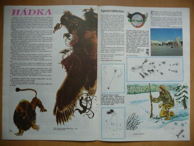 Časopis - Junák - ročník 34. - číslo 1. - Leden 1991 - Vojenské