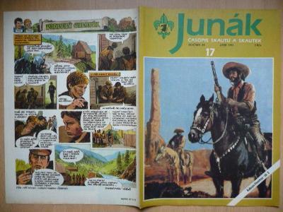 Časopis - Junák - ročník 34. - číslo 17. - Září 1991