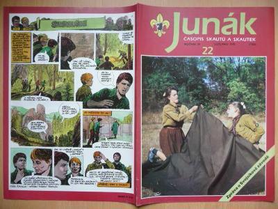 Časopis - Junák - ročník 34. - číslo 22. - Listopad 1991