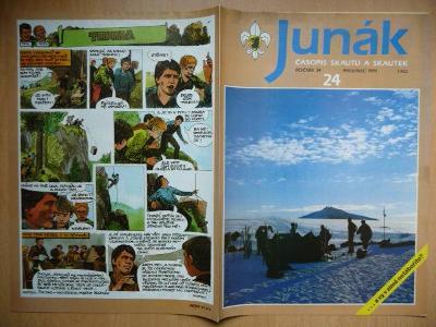 Časopis - Junák - ročník 34. - číslo 24. - Prosinec 1991