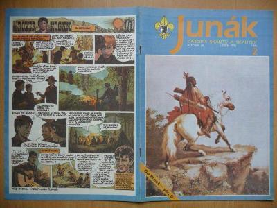 Časopis - Junák - ročník 35. - číslo 2. - Leden 1992