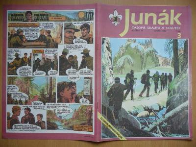Časopis - Junák - ročník 35. - číslo 3. - Únor 1992