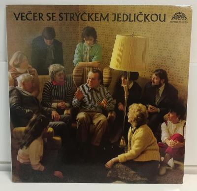 LP VEČER SE STRÝČKEM JEDLIČKOU/NM, TOP STAV, 1987