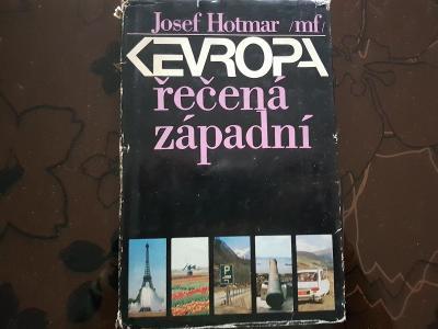 Kniha Evropa řečená západní - Josef Hotmar