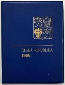 KOMPLETNÍ ROČNÍKOVÉ ALBUM 1996 - ZN., A + ČERNOTISK PTR 4 (T8418)