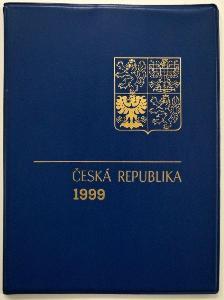 KOMPLETNÍ ROČNÍKOVÉ ALBUM 1999 - ZN., A + ČERNOTISK PTR 7 (T8420)