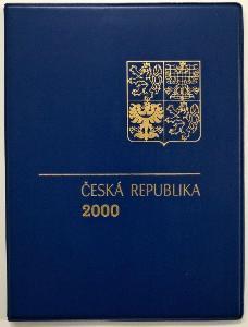 KOMPLETNÍ ROČNÍKOVÉ ALBUM 2000 - ZN., A + ČERNOTISK PTR 8 (T8421)
