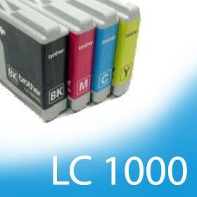 Kompatibilní sada náplní pro Brother LC-970 / LC-1000 / BK, C, M, Y /