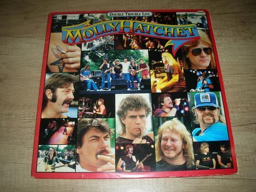 Molly Hatchet – Double Trouble Live (1985) 2xLP ,EX- - Hudba