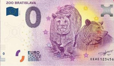 0 euro ZOO Bratislava 2019