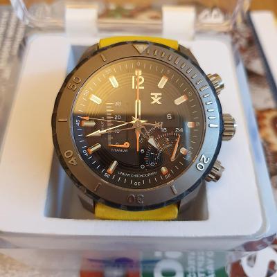Pánské luxusní hodinky TIMEX-limitovaná edice+ řemínek  navíc-TOP stav