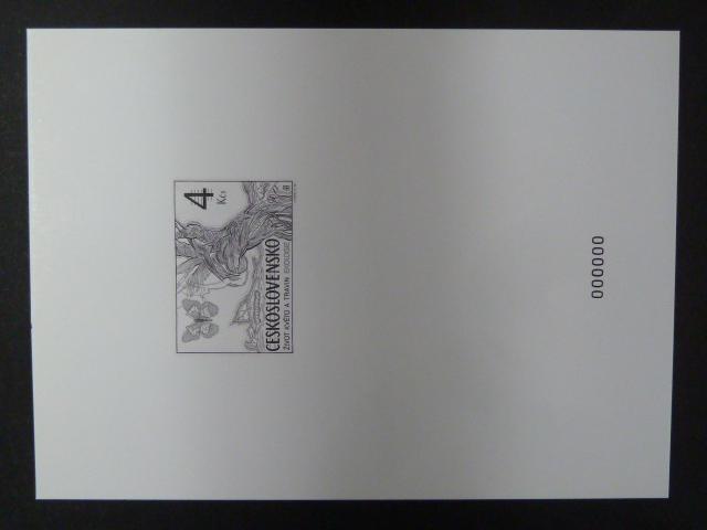 příl. tisk Merkur Revue 1998 - Ekologie - nuly - Filatelie
