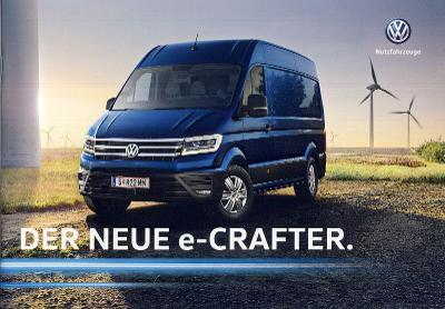 Volkswagen Vw e Crafter prospekt 03 / 2019 AT