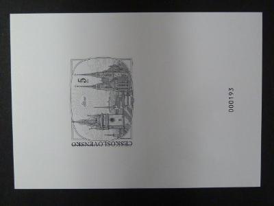 příl. tisk  1998 - Padělky čs. známek - číslovaný