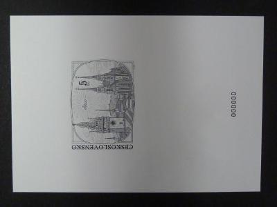 příl. tisk  1998 - Padělky čs. známek - nuly
