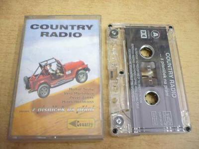 Kazeta: COUNTRY RADIO ...z písniček na přání
